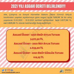 2021 Asgari Ücret